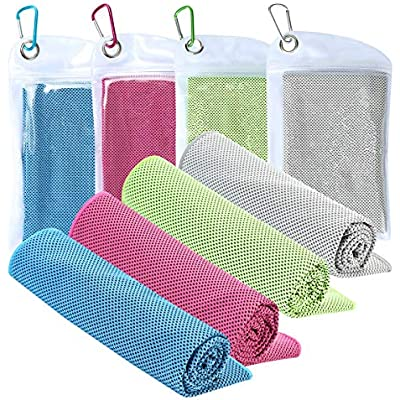 LightWeight Travel Towel For Camping Voiks Micro Fibre Cooling Towel for Gym