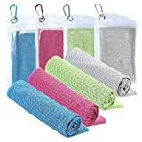XJSGS Cooling Towel Microfiber Towel Fast Drying Super Absorbent Ultra Compact Cooling Towel
