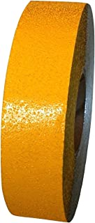 ifloortape Yellow Reflective Foil Pavement Marking Tape Conforms to Asphalt Concrete Surface 2 Inch x 150 Foot Roll