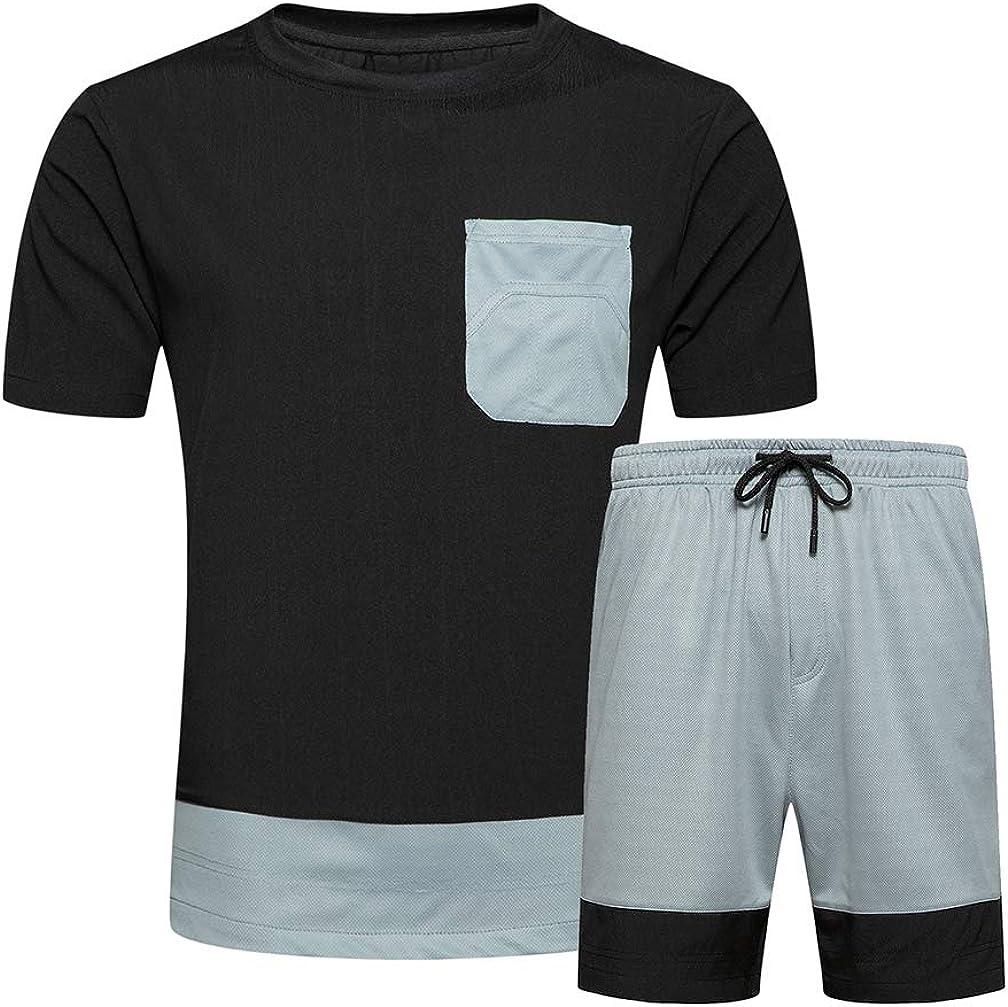 Litteking Men's Attention brand Tracksuit 2 Piece an Lowest price challenge T-Shirt Summer Short Sleeve