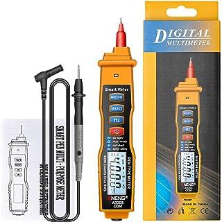 HELYZQ Multímetro tipo caneta A3003 4000 contagens c/CA/CC capacitância de resistência à tensão Hz