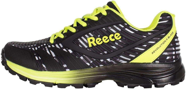 Reece Revolution X-Blade Hockey shoes Black Yellow
