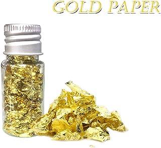 Decdeal 24 K Copos de Oro Comestibles Alimentos Decoración