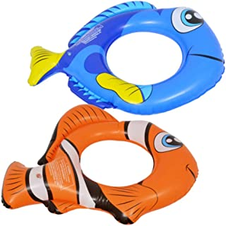 Splash n Swim Nemo and Dory Set for Kids, Swimming Splash Ring Inner Tube Float