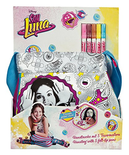 Undercover SORN2420 - Handtasche Disney Soy Luna Schreibwaren, 28 x 24 x 7 cm
