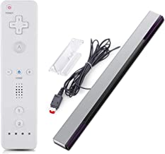 $23 » MOLICUI Replacement Wired Infrared Wii Sensor Bar and Remote Controller Compatible with Wii and Wii U Console