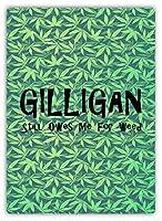 ギリガンはまだ私を借りている 金属板ブリキ看板警告サイン注意サイン表示パネル情報サイン金属安全サイン