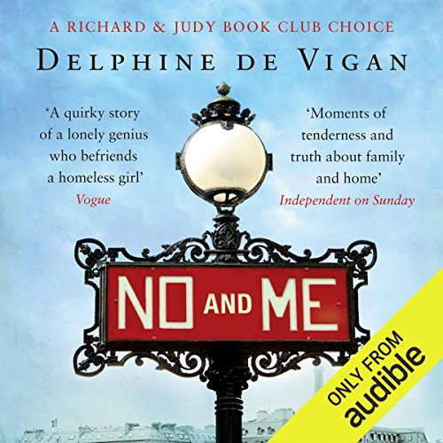 No and Me audiobook cover art