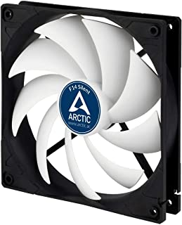 ARCTIC F14 SILENT-140 mm Standard Case Fan, Ultra Low Noise Cooler, Silent Cooler with Standard Case, Push- or Pull Config...