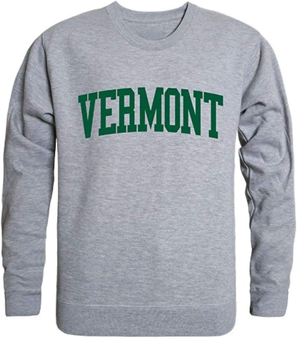 UVM University of Vermont Game Sweatshirt Pullover Day Max Albuquerque Mall 85% OFF Crewneck