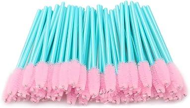برس های ریمل ، 300 بسته لیش یکبار مصرف برای ابزار آرایش پسوند مژه ، مجموعه ابزار فله ، رنگ آبی و صورتی