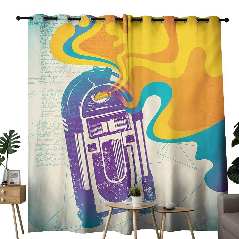 Jukebox Pattern Curtains Free Patterns