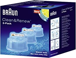 Braun Clean & Renew Cartridge Lot de 3