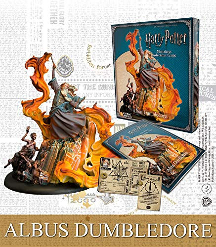 Knight Models Tabletop - Miniature Game Resina DC Comics Superhero - Albus Dumbledore Spanish