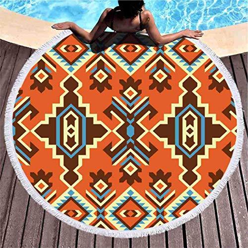Dress rei Toalla de playa bohemia geométrica étnica tribal Kilim Boho grande...