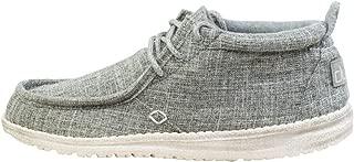 Hey Dude Mens Conrad Linen Casual Boat Shoes Shoes