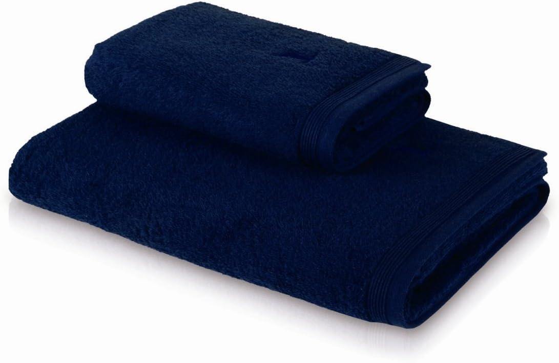 M/öve Superwuschel Handtuch 50 x 100 cm dunkelblau