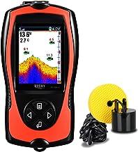 Sponsored Ad – LUCKY Portable Fish Finder Handheld Kayak Fish Finders Wired Fish Depth Finder Sonar Sensor Transducer for ...