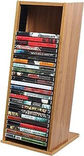 Estante de Almacenamiento de DVD de Escritorio, Marco de Disco de Vinilo para Dormitorio de Hotel - Fundas de Disco de Vin...