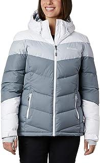 Columbia Abbott Peak Insulated Chaqueta De Esquí con Capucha, Mujer