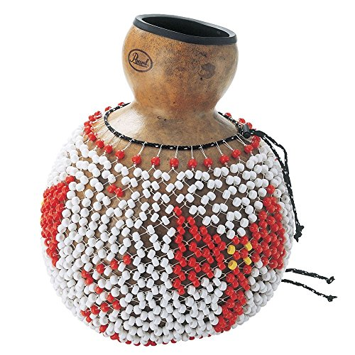 Traditional Natural Gourd Shekere opbergdoos, groot