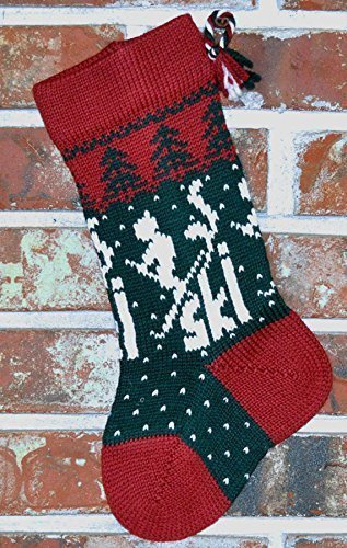 Skier Tucson Mall Christmas Stocking Nippon regular agency Small -