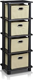 Best plastic shelves with drawers Reviews
