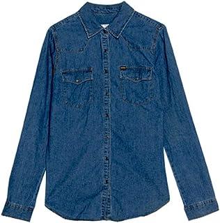 Pull & Bear Shirts For Women, Blue L