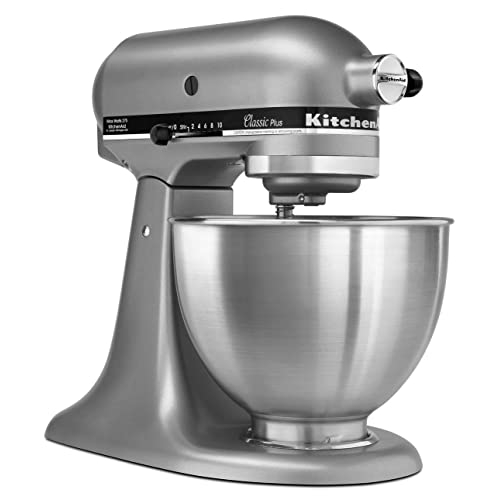 KitchenAid KSM75SL Tilt-Head Stand Mixer, Silver