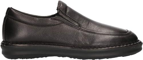 Frau 38M5 Schwarz Schwarz Schwarz Schuhe Herren Mokassin Komfort ohne Schnürsenkel Leder  Rabattverkäufe