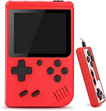 TrophyRak Handheld Game Console, Retro Mini Game Console, 500 Classical FC Games, Built-in 800mAh Rechargeable Battery, Su...