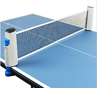 table tennis net Portable Nylon Ping pong Table Tennis Net Replacement for Sport(1.72m)
