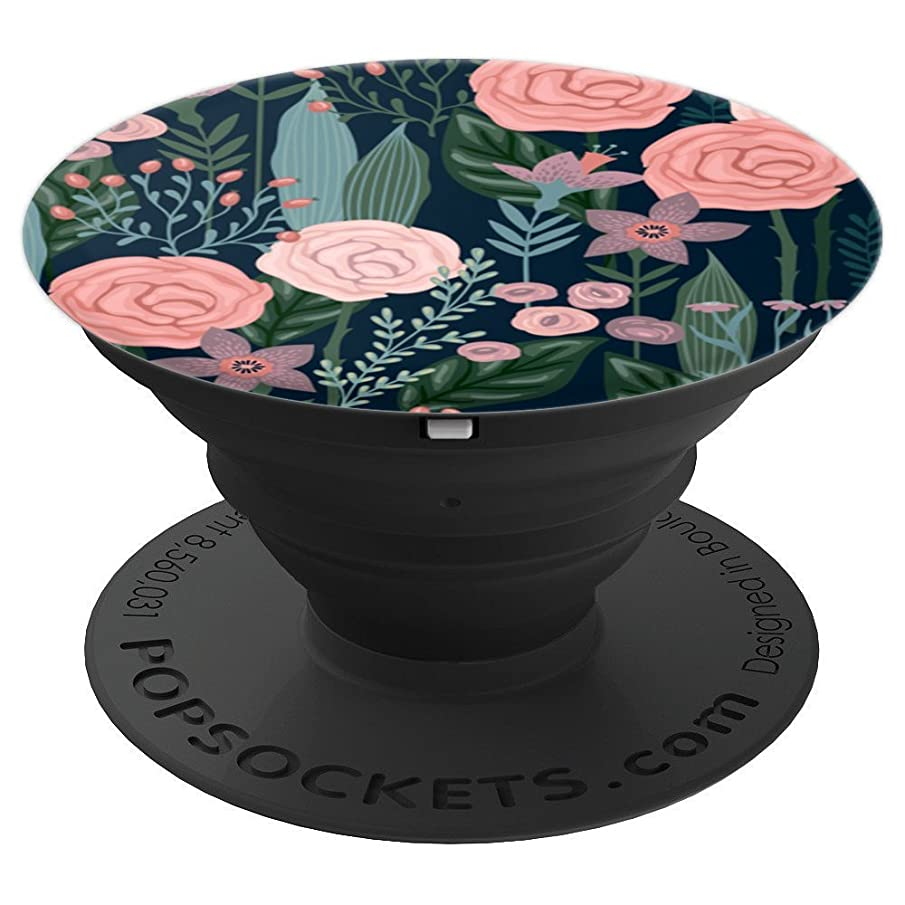 Vintage Pastel Colored Wildflower - PopSockets Grip and Stand for Phones and Tablets