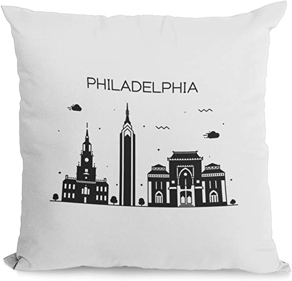 Bonnie Jeans Homestead Prints Philadelphia Pillow Cover Oatmeal 20x20
