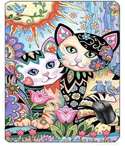 N\A Tappetino per Mouse Aventn Cartoon Cat