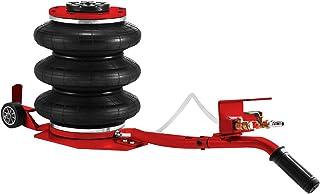 VEVOR Gato Neumático de Aire 3T Rojo Gato de Aire de Bolsa Gato Neumatico para Coche