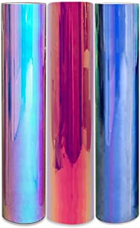 Styletech VNYL-TTH-12001-6 Opal-6-Pack Opal Vinyl Sheets, 6-Pack, Blue/Pink/and White 6 Piece