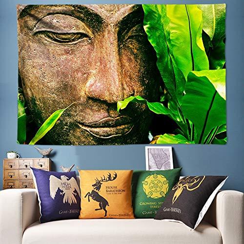 mmzki Sun Moon Tapisserie Wandbehang Psychedelic Celestial Indian Sun Emoji Hippie Tapisserie Hippie Wandtuch Boho Wandkunst Strandtuch Tapisserie-230X150CM