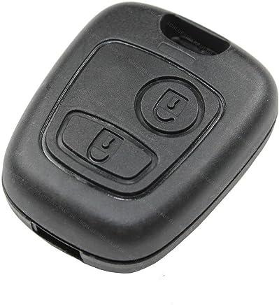 Llavero LOVELIFEAST de repuesto del mando a distancia para el coche, con carcasa dura y