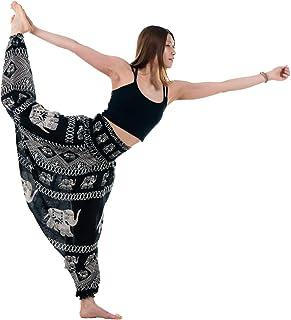 سراويل نسائية من B BANGKOK سراويل الحريم هيبي بوهيمي لليوجا بوهو ملابس بيجامات