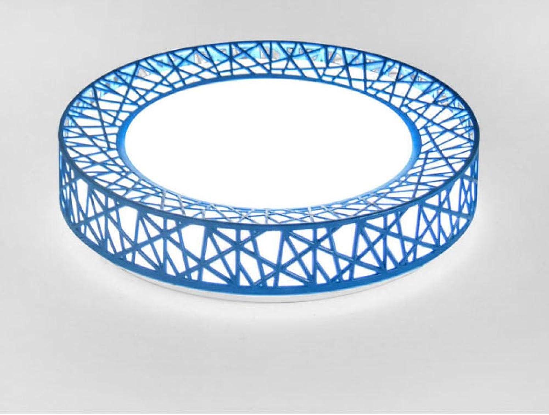 JIUHommesG 24  2W imperméable à l'eau LED Plafonnier moderne mince Lampe Applicable à la salle de bain la chambre la cuisine le salon le balcon Plafonnier,Lampe plafond