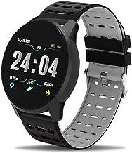 UIEMMY slim horloge Herenhorloge Sportarmband Smart Waterdicht Fitness Bluetooth-verbinding Android ios-systeem Hartslagme...