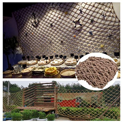 Kids Safety Net, Cuerda Malla decoración, Balcón Red Protectora Cerca Que Sube Plant Net Net Infantil Hamaca Barandilla Animales Juguetes 1x1m (Size : 1 * 6m(3 * 20ft))