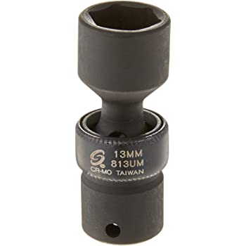 "22mm Universal Impact Socket 222UM Sunex 1//2/"" Dr"