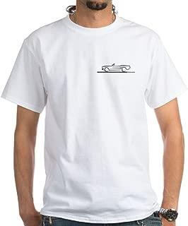 1966 Mustang 100% Cotton T-Shirt, White