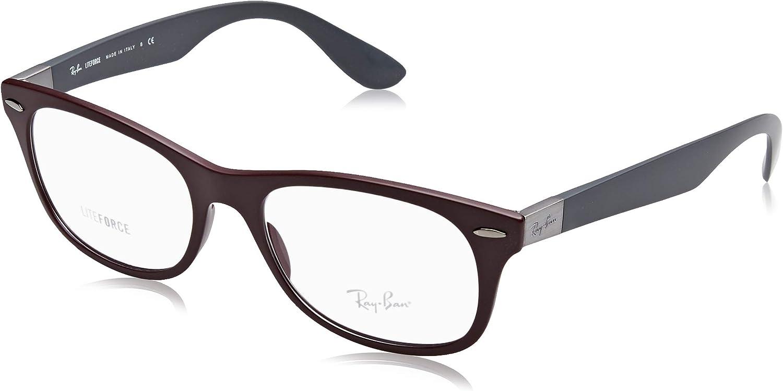 Ray-Ban Quantity limited 0RX7032 Sand Dark Elegant One Violet Size