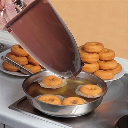 Plastic Donut Maker Machine Mold DIY Tool Kitchen Baking Pastry Bakeware