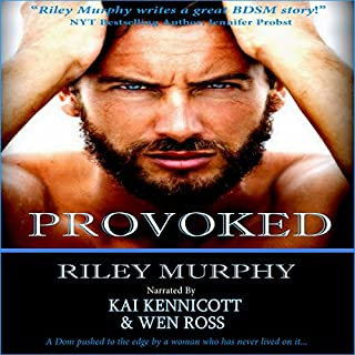 Provoked audiobook cover art