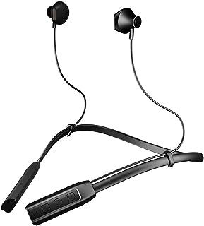 c75cce8d3f9 Auriculares Bluetooth de contorno de cuello,Inalambricos Deportivos Manos  Libres Estéreo Headphones con Micrófono cancelación