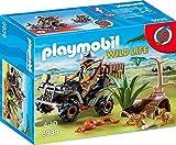 Playmobil Vida Salvaje- Explorador con Quad Playset de Figuras de...